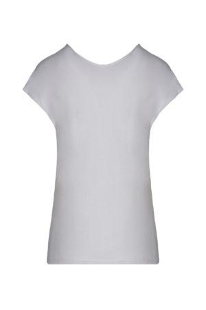 Tee-shirt blanc scollo Aeronautica Militare