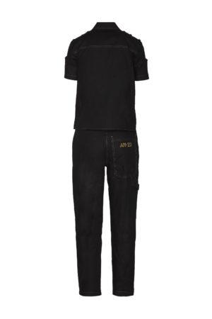 Robe combinaison noire Aeronautica Militare