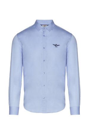 Chemise bleue claire Aeronautica Militare