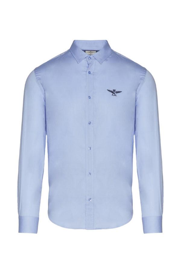 chemise blue aeronautica militare