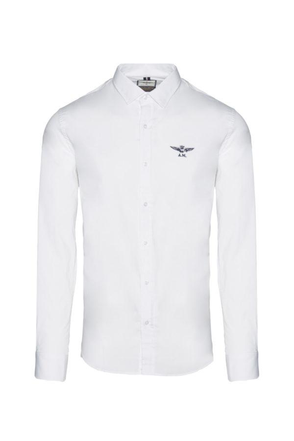 chemise white aeronautica militare