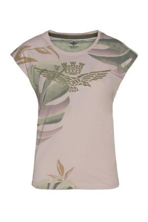 Tee-shirt rose Aeronautica Militare