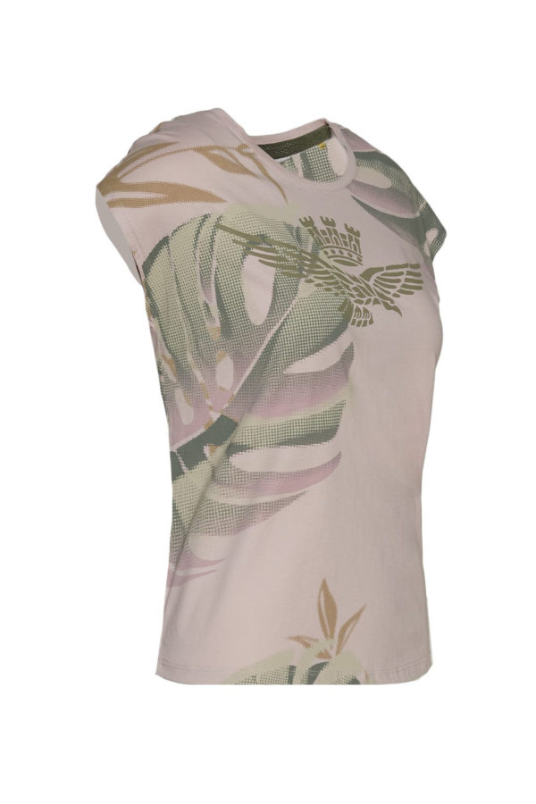 t-shirt rose Aeronautica militare
