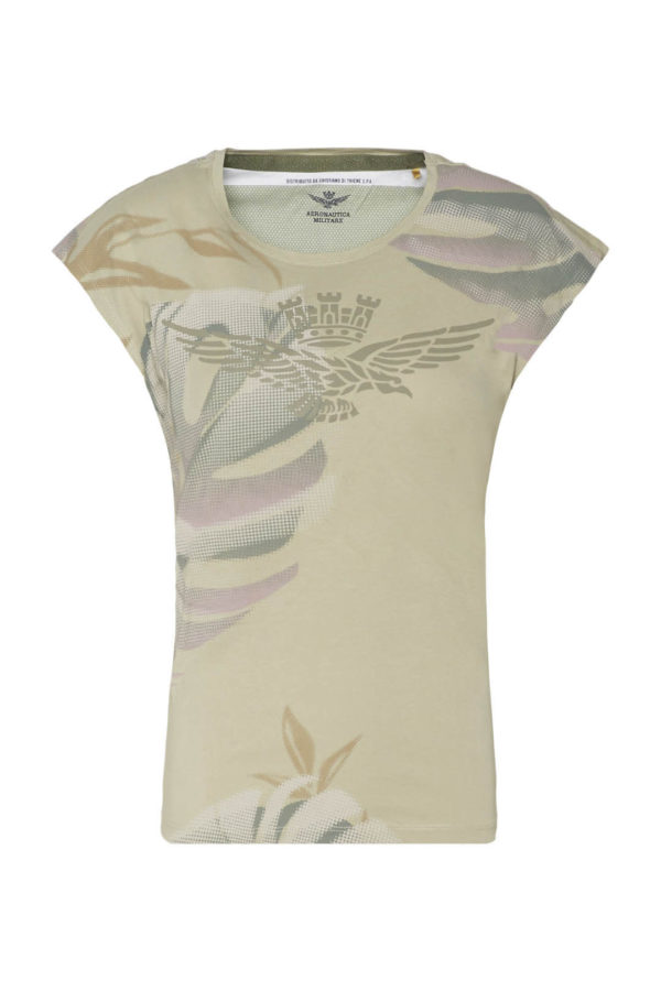 t-shirt menthe Aeronautica militare