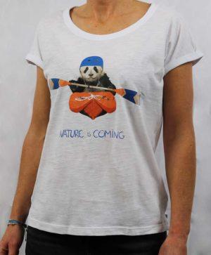 Tee-shirt canoe Nature is coming