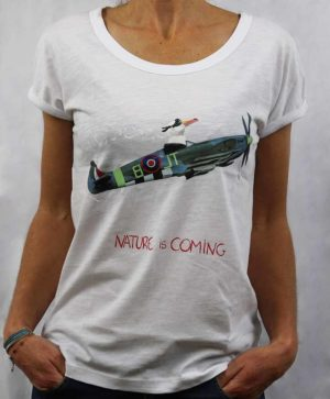Tee-shirt Flagada Nature is coming