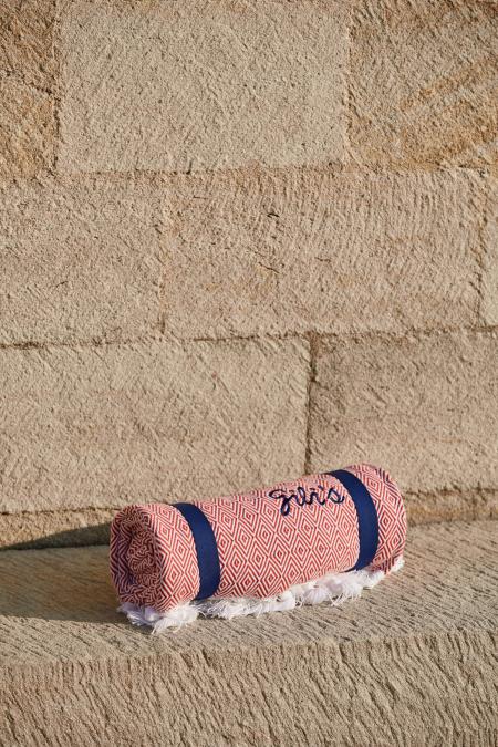 Drap de bain terracotta Gili's