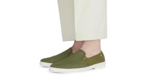Chaussures Toile et filet Kaki Rivieras