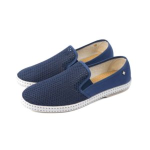 Chaussures Toile et filet bleu Rivieras