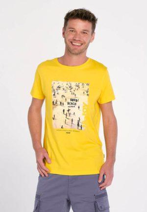 Tee-shirt Jaune J & Joy