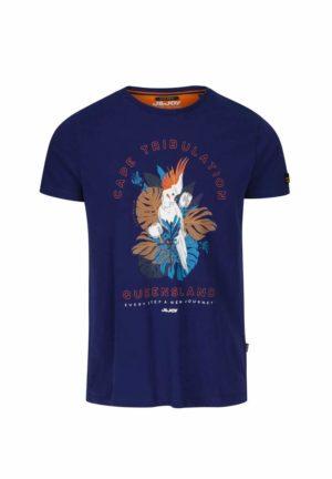 Tee-shirt Bleu J & Joy