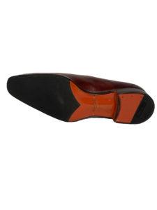 chaussures marron Santoni