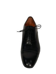 chaussures noires Santoni